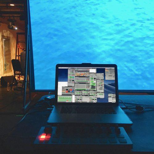 Tech setup for live visuals