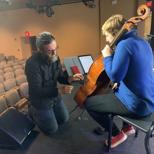 Tech Rehearsal [David Morneau, Kate Dillingham]