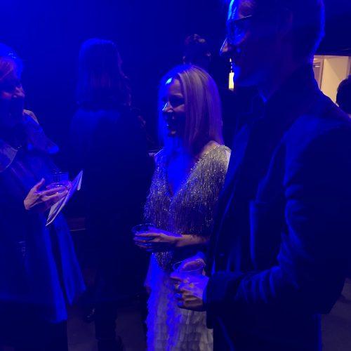Post concert reception [Melissa Grey, Marc Fiaux]