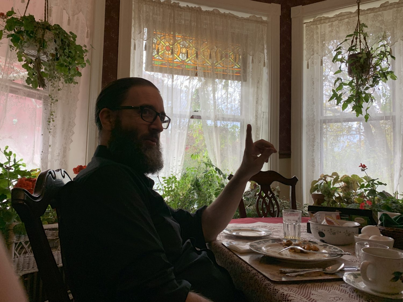 Breakfast at the Spencer-Silver Mansion [David Morneau]
