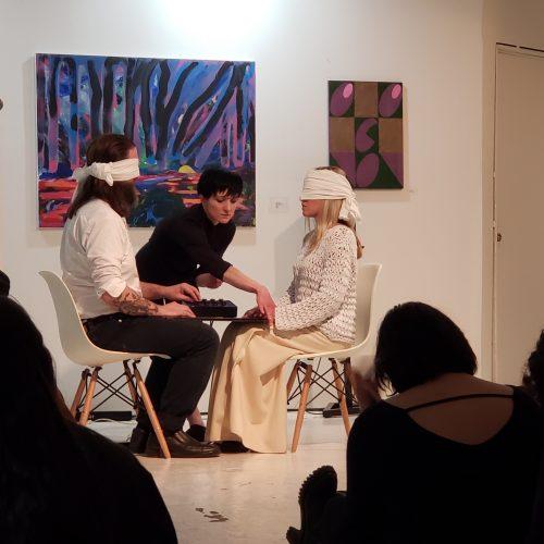 Kepler–37 at Taaffe Gallery (David Morneau, Julie Fotheringham, Melissa Grey)
