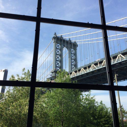 Manhattan Bridge seen from Smack Mellon