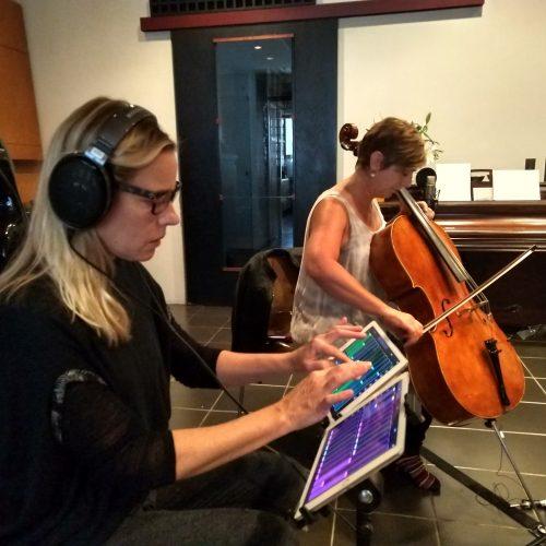 Rehearsal. Melissa Grey, Kate Dillingham