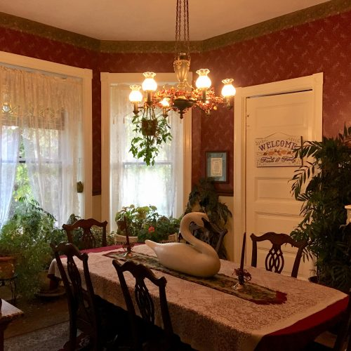 Dining Room at the Spencer-Silver Mansion