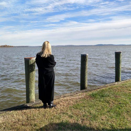 Melissa Grey by the Susquehanna River