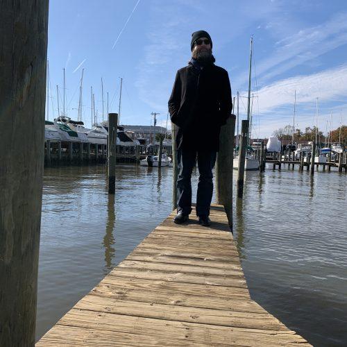 David Morneau by the Susquehanna River