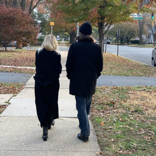 Morning walk [Melissa Grey & David Morneau]
